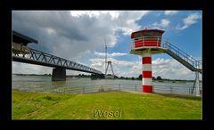 Rheinpegel Wesel