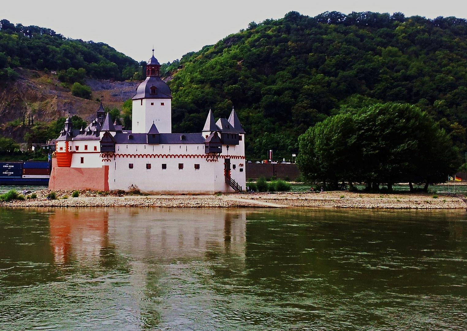 Rheinpfalz bei Kaub