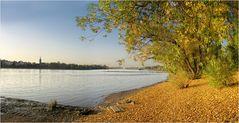Rheinromantik - Herbstansicht