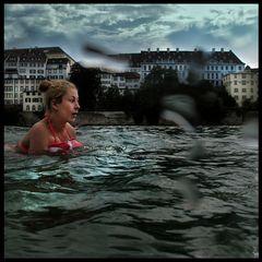 Rheinschwimmen, Basel