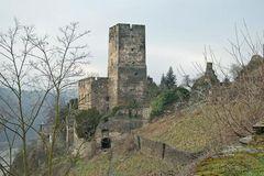 Rheinsteig: Burg Gutenfels