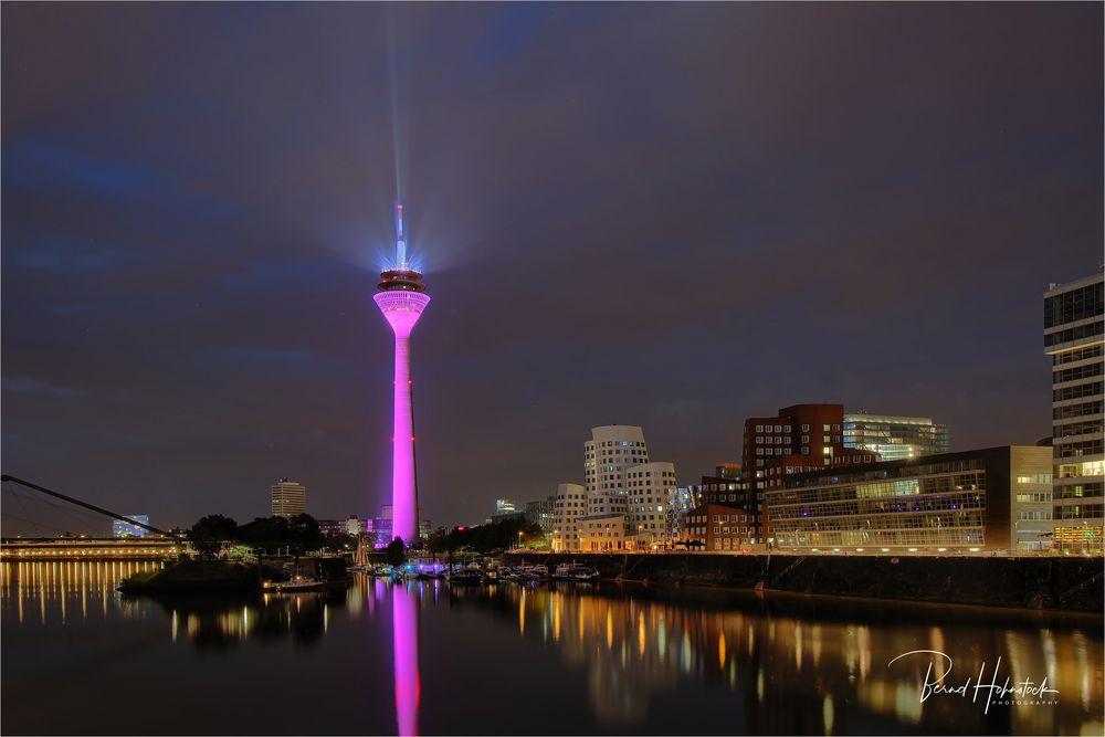 Rheinturm Düsseldorf .... 5G Telekom