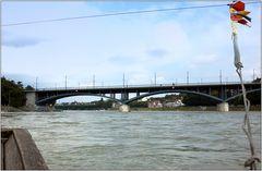 ... Rheinüberquerung ...