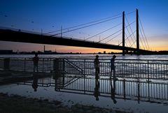 Rhine_Flood_Sunset