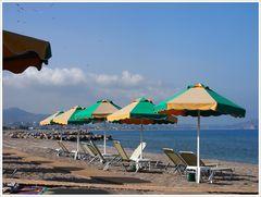 Rhodos - Am Strand von Kolymbia
