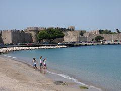 Rhodos Stadt - Am alten Hafen
