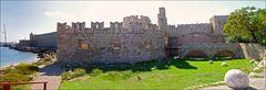 Rhodos-Stadt Befestigungsanlage