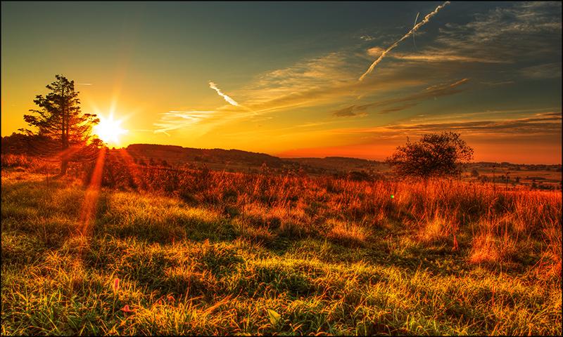 Rhön - sunrise