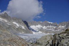 Rhonegletscher im August 2016