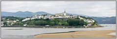 Ria del rio Eo, Castropol, Asturias. Panoramica (4 Img.)