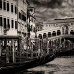 Rialto  Venezia - so muss es gewesen sein