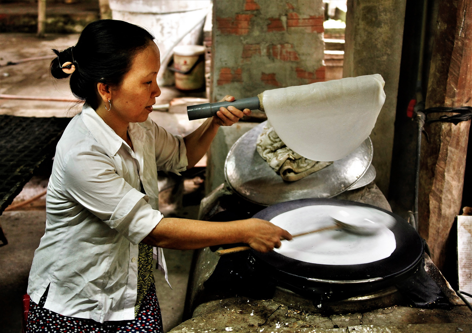 rice paper crepes