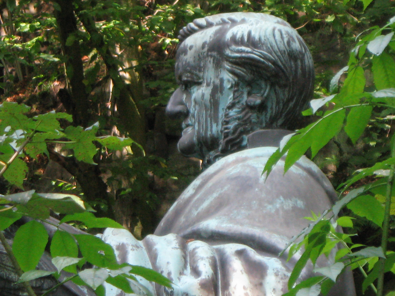 Richard Wagner Denkmal an der Lochmühle