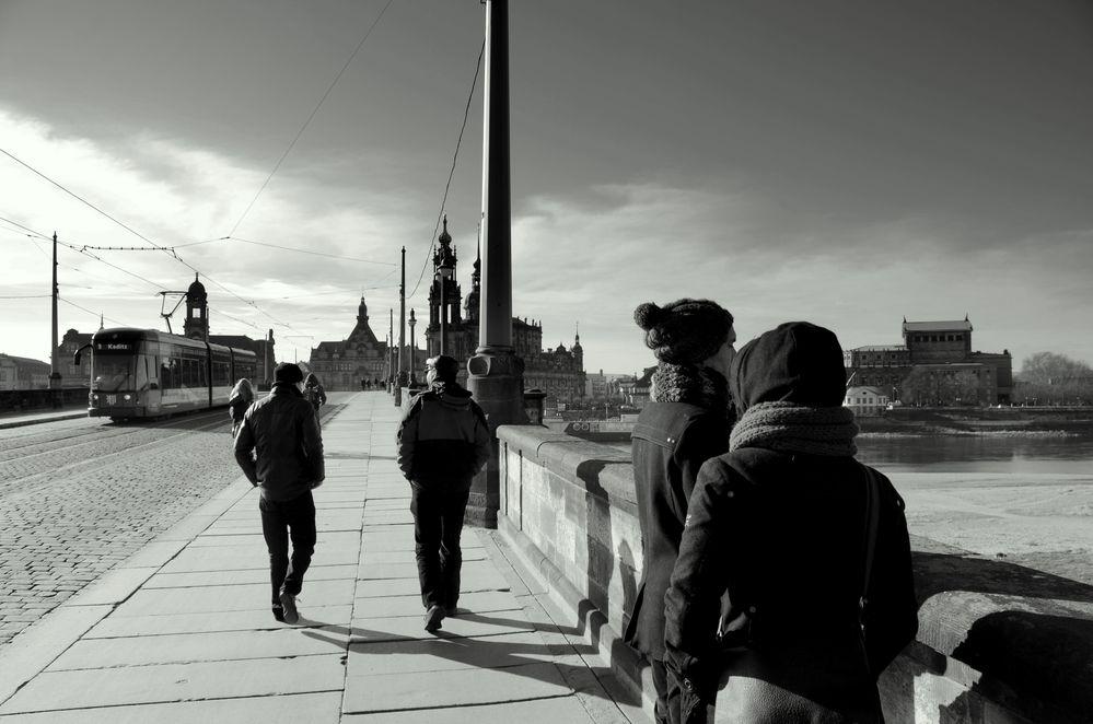 Richtung Altstadt
