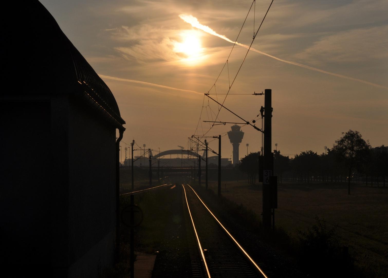 Richtung Sonnenaufgang