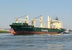 Rickmers Antwerp - Bulker und Containerfrachter