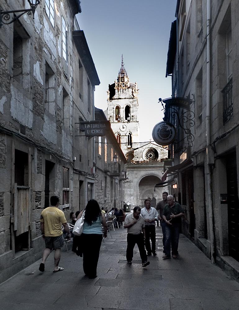 Ricones de Lugo.Torre de la catedral