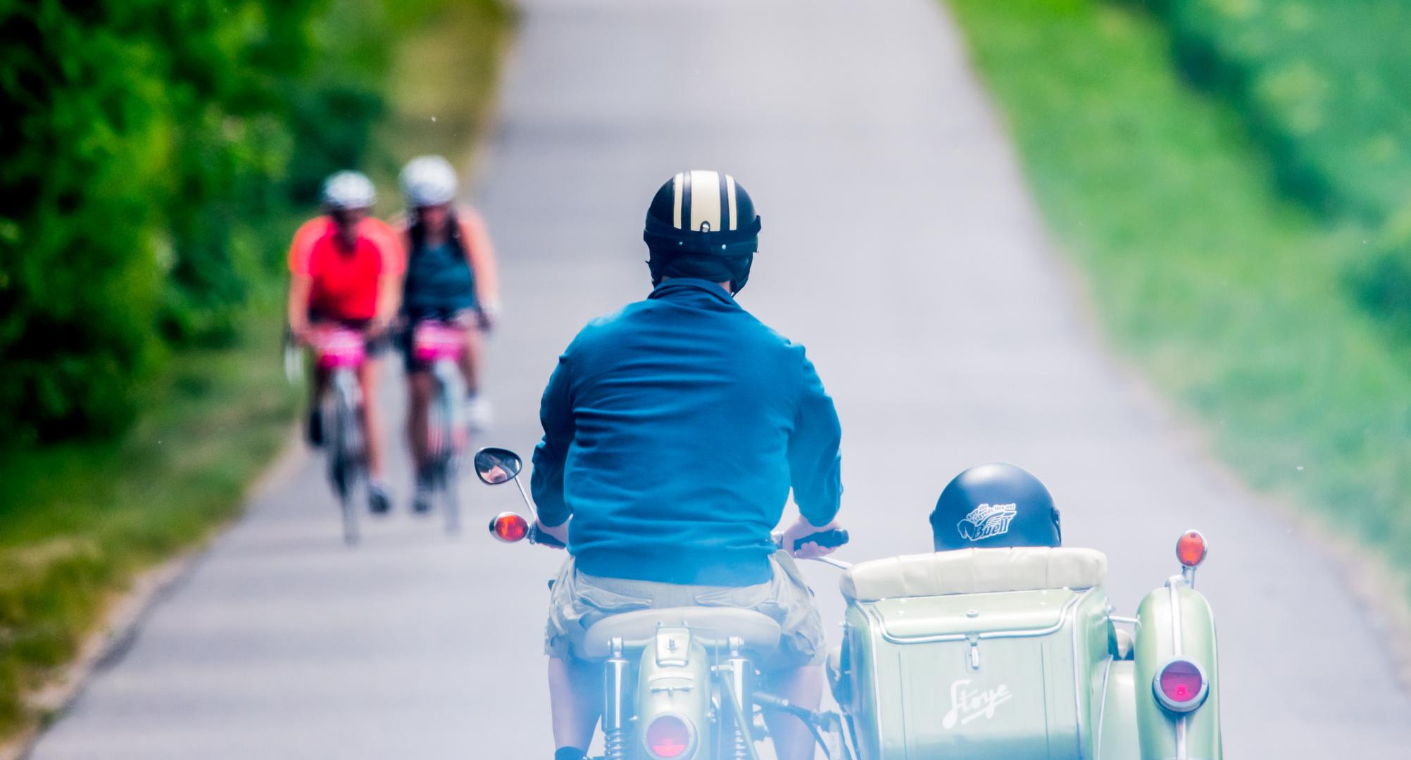 -ride on-