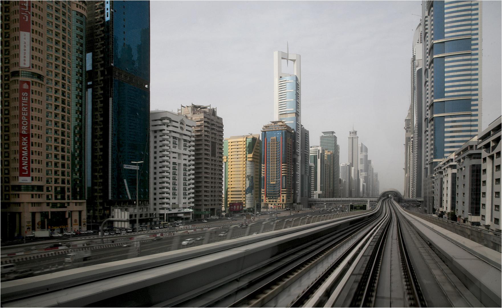 Riding a town - Dubai, UAE
