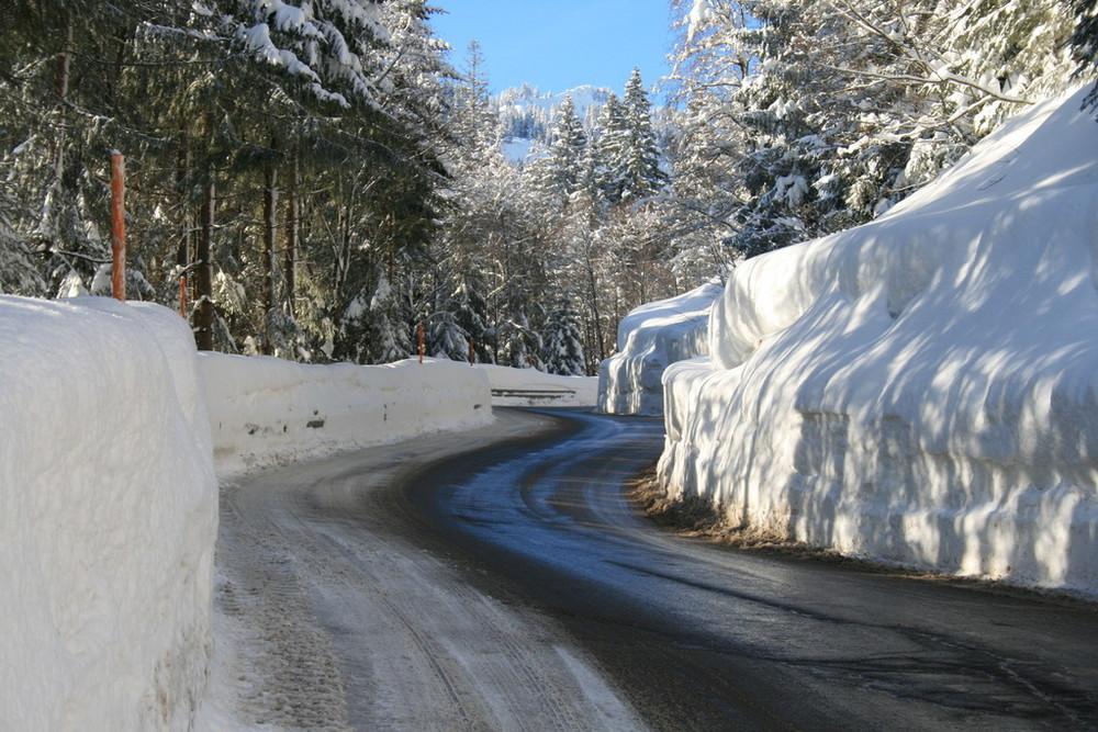 Riedbergpass winter