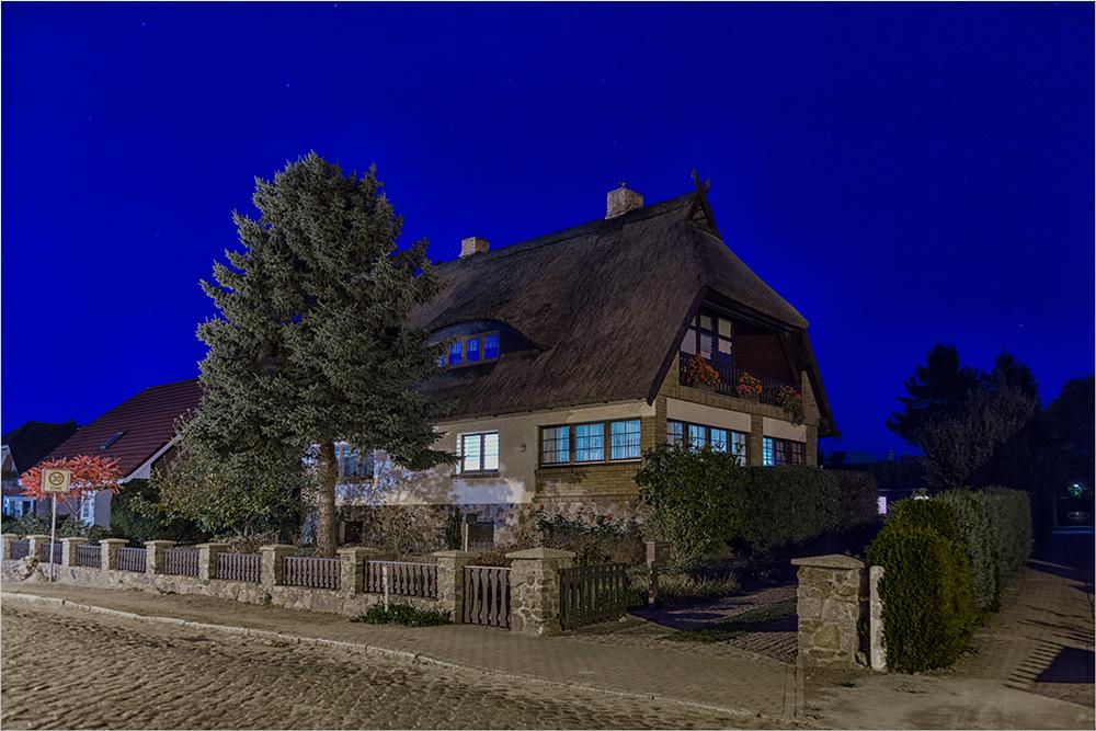 Rieddachhaus in Altefähr
