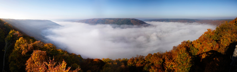 Riedenburger Nebelpanorama