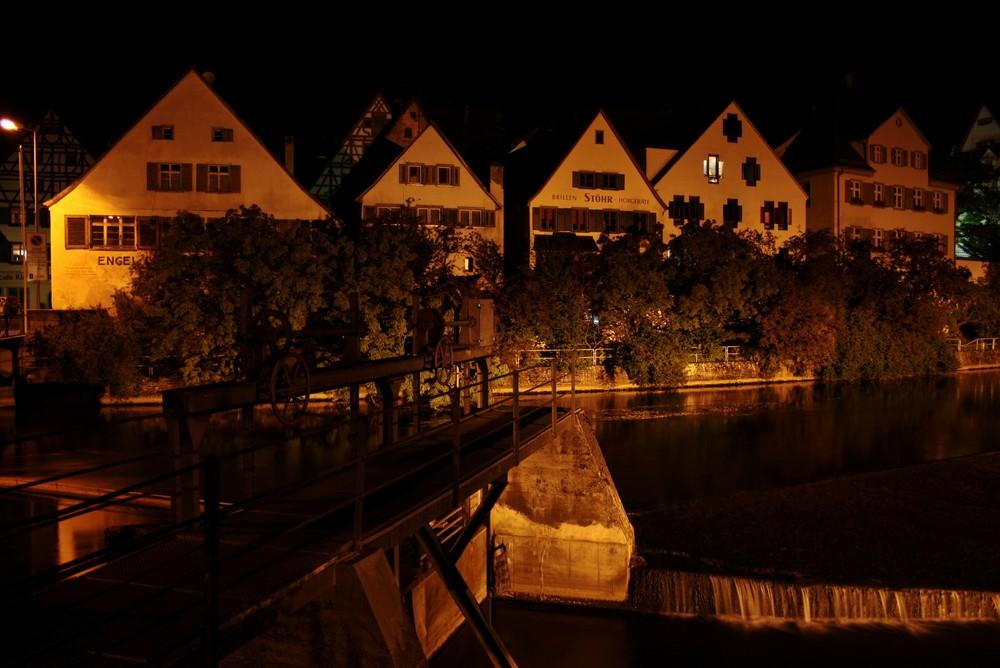 Riedlingen -Skyline bei Nacht-