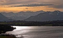 Riegsee, Murnau und das Zugspitzmassiv