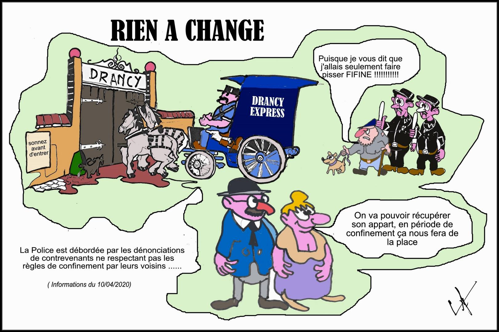 RIEN A CHANGE