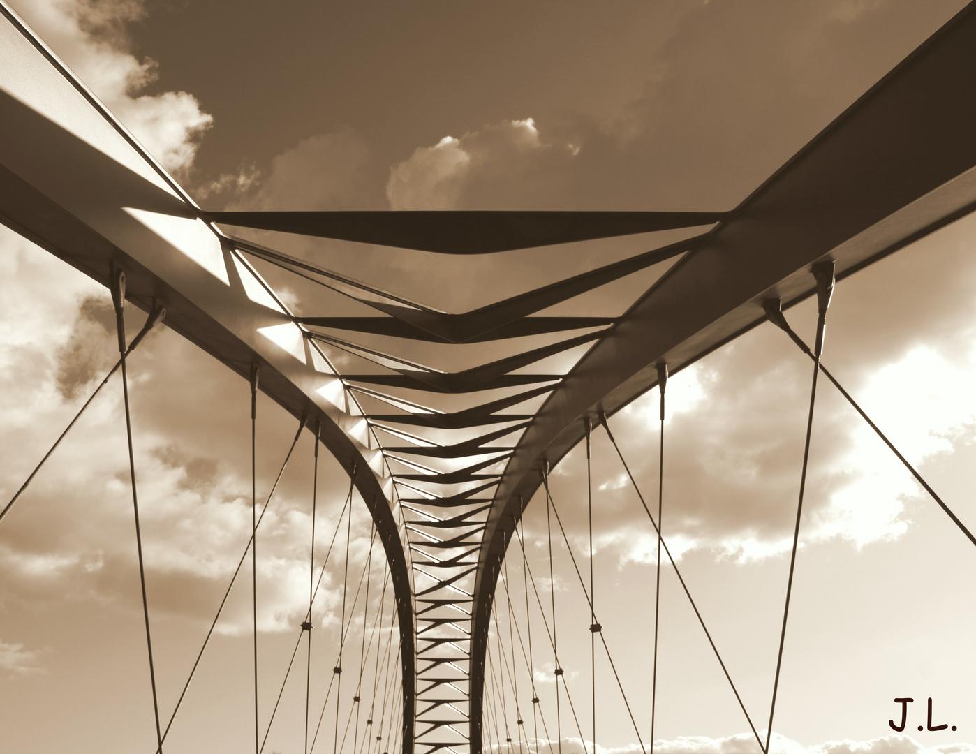 Riesa`s schönste Brücke