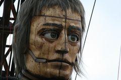 Riesen in Berlin: Melancholie