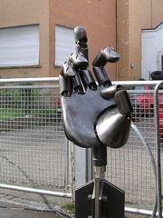 Riesen Stahl-Finger