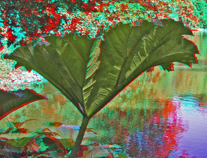 Riesenblatt 3D