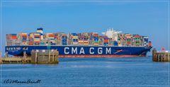 Riesencontainerschiff