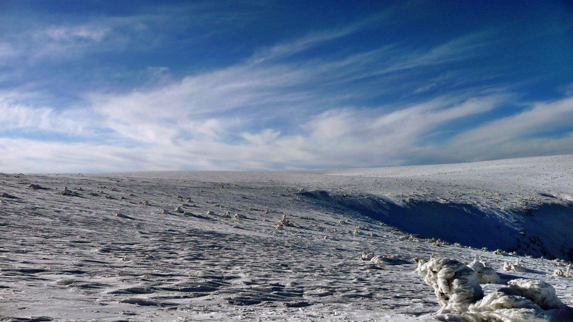 Riesengebirge-Auf dem Kamm