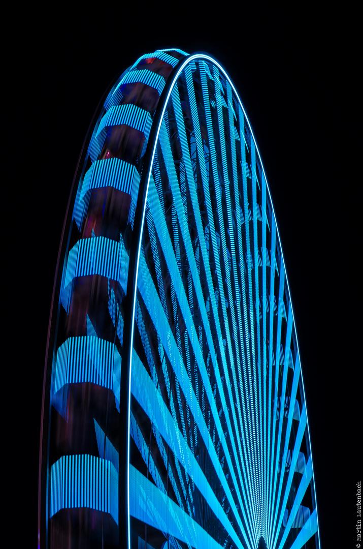 Riesenrad #2 - Black & Blue