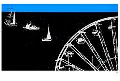 Riesenrad am Meer