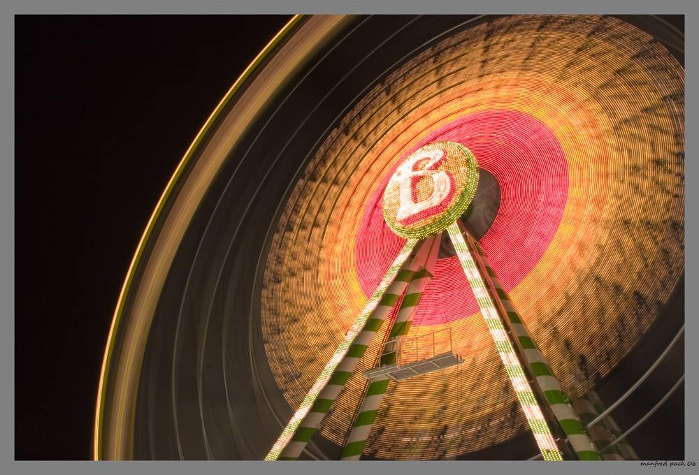 Riesenrad auf dem essener Weihnachsmarkt