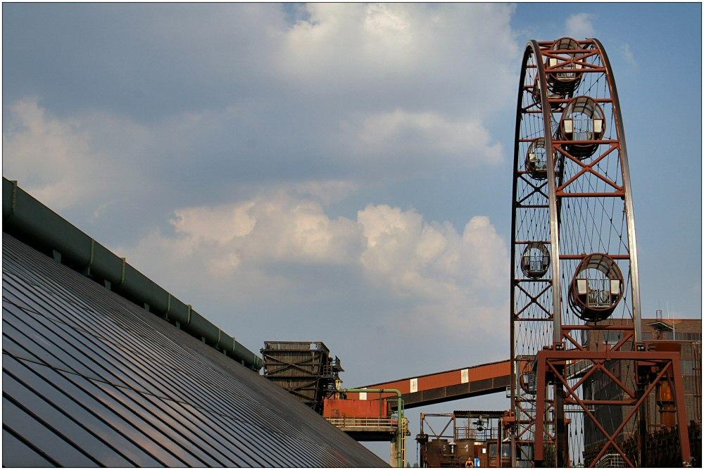 Riesenrad auf der Kokerei Zollverein