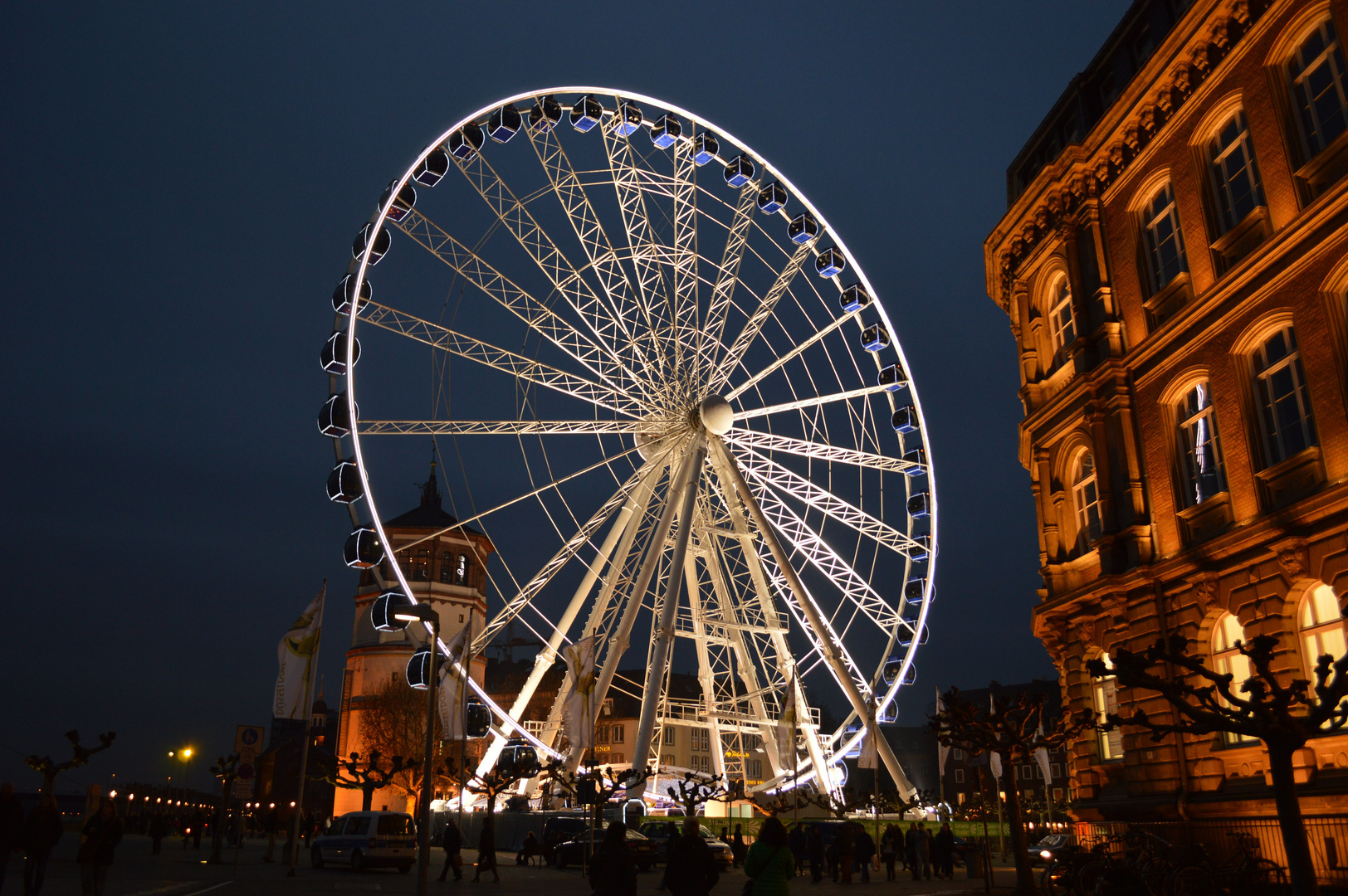 Riesenrad by night!