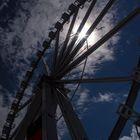 Riesenrad in Hamburg
