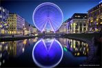 Riesenrad in voller Schönheit .... in der Landeshauptstadt von NRW