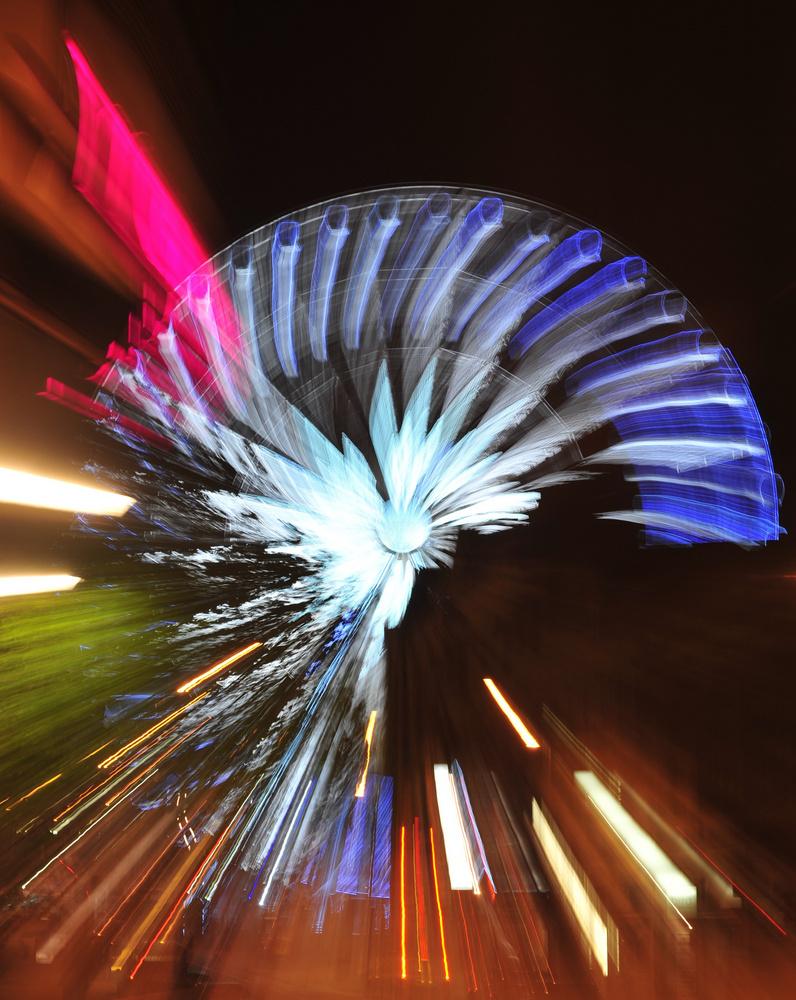 Riesenrad Sheffield mit Spin