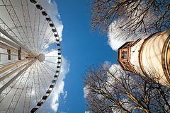 Riesenrad vs. Schlossturm
