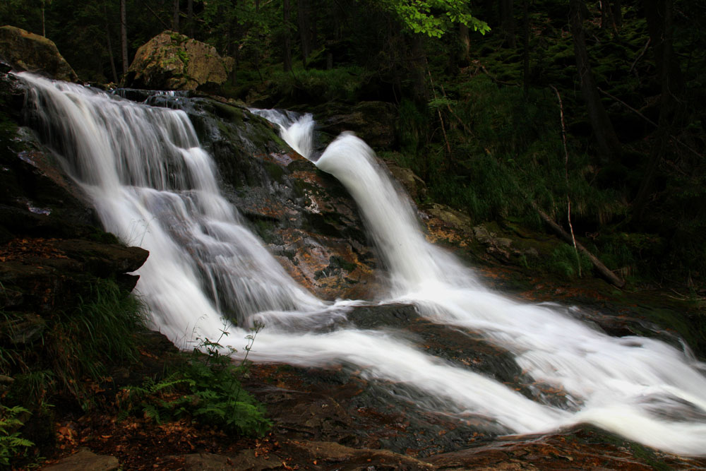 Rieslochfälle bei Bodenmais im bayerischen Wald