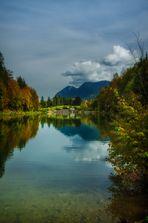 ....Riessersee in Herbstfarben...