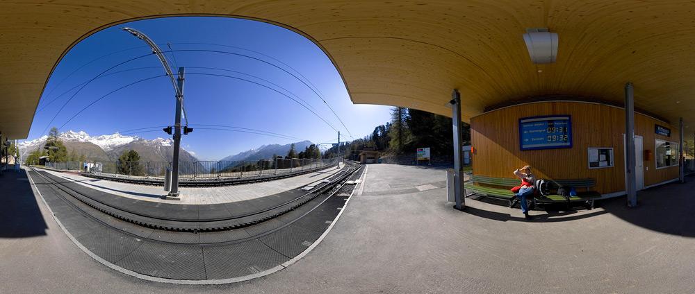 Riffelalp Bahnstation