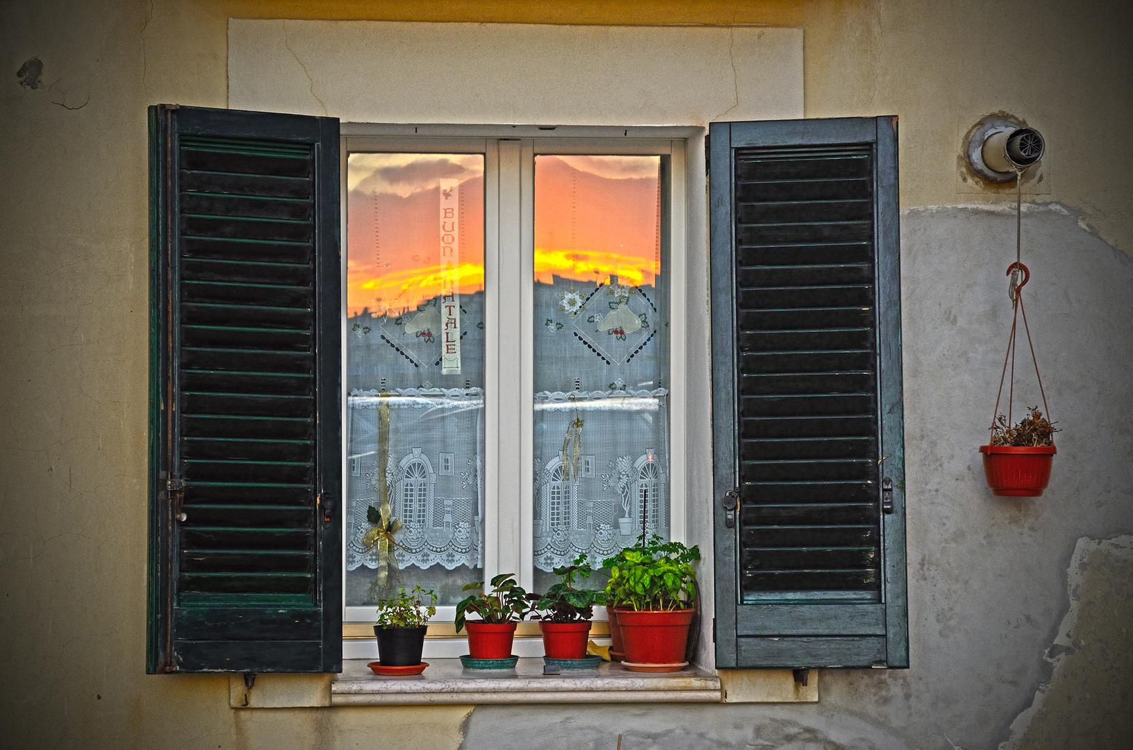 Riflessi di tramonto