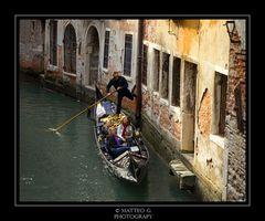 Riflessi in Gondola