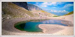 riflessi sul Lago di Pilato
